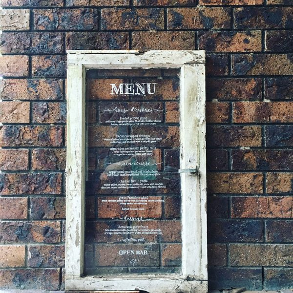 Old window menu